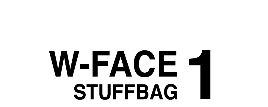 W-FACE STUFF BAG 1